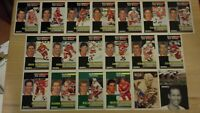 1991-92 Pinnacle French DETROIT RED WINGS Team Set - 19 Cards - LIDSTROM ROOKIE