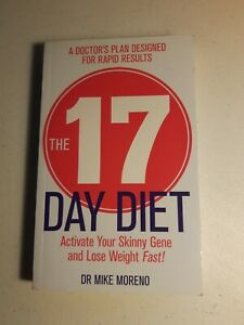 The 17 Day Diet - Dr Mike Moreno - Paperback - Free Postage