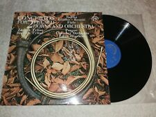 Concertos for 2 French Horns and Orchestra    Vinyl  LP