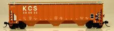 NEW N Atlas TM #50004714 4750 Covered Hopper Kansas City Southern #308633