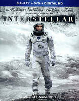 Interstellar (Blu-ray) DISC ONLY NO CASE NO COVER ART EXCELLENT CONDITION