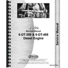 Buda 6dt 389 468 Engine Service Repair Manual