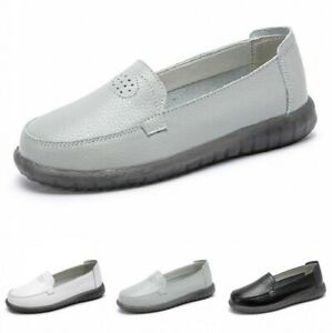35/41 Women Casual Hollow Out Breathable Loafer Flats Comfort Work Shoes Pumps B