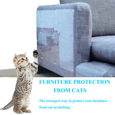 8PCS Furniture Protectors Cat Anti Scratch Scratching Post Couch Protector Guard