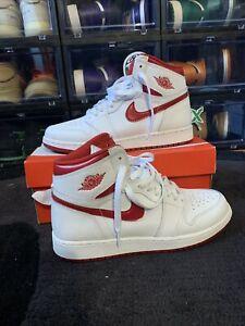 Nike Air Jordan Retro 1 High OG Metallic Red 575441103 Size 7 Y VNDS
