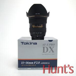 TOKINA AT-X PRO SD 11-16mm f2.8 (IF) DX II NIKON MOUNT AUTO FOCUS ZOOM LENS