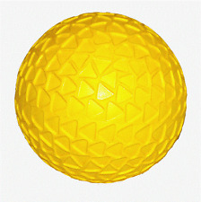 "Back Yard Ball / Soft Rubber Bounce Ball / 8"" Rubber Ball – Yellow NEW!"