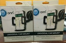 A lot of 2 ONN Universal car Mount For Smartphones