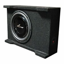 "Audiopipe 10"" 400 Watts Shallow Mount Downfire Loaded Enclosure - APSB-10BDF"