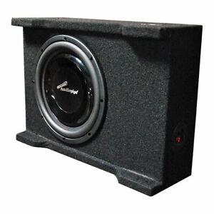 "Audiopipe 10"" 400 Watts Shallow Mount Downfire Loaded Enclosure - APSB-10BDF"