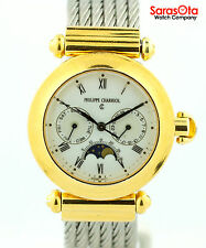 Philippe Charriol 37.90.1177 Christopher Columbus Two Tone Quartz Men's Watch