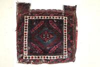 Pre-1900 rug carpet antique oriental tribal Afghan Turkmen Turkoman Baluch