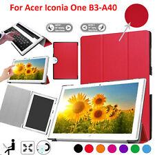 """Funda Para Acer Iconia One 10 B3-A40 10.1"""" Cuero Magnética Libro Soporte Smart"""