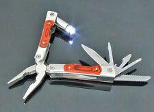 LED Taschenwerkzeug Taschenmesser Tool Messer #8-1401