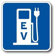 EV Charging Electric Car Vehicle EV Bumper Sticker Decal LEAF Tesla BMW i3