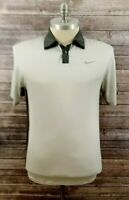 Nike Tiger Woods Collection Mens Short Sleeve Polo Golf Shirt Size Medium