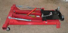 4400L 2 Ton Low Profile Transmission Hydraulic Jack Auto Shop Repair Low Lift