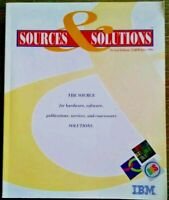 1994 Sources & Solutions 2nd Edition IBM Source For Software Solutions