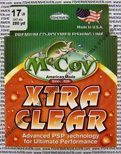 McCoy Fishing Line CoPolymer Xtra Clear 250 Yard Spool 17LB Test