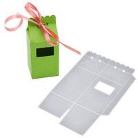 Schachtel Box Stanzschablone Stanze Weihnachten Hochzeit Geschenkpackung DIY