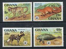 Ghana 702/05 A postfrisch / WWF ..........................................1/1994