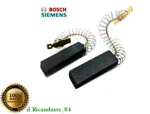 Coppia Carboncini Kit Spazzole Motore Lavatrice Bosch Siemens 5X12,5X36