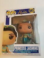 Disney Aladdin Princess Jasmine 541 Funko Pop New Mint