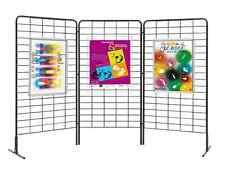 Kit 3 griglia da esposizione vendita per bar musei fiere ambulanti negozi ditta