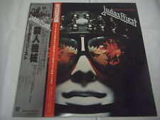 JUDAS PRIEST-Killing Machine JAPAN 1st.Press w/2 OBI Japan Tour Memorial AC/DC