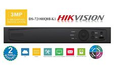 HIKVISION DVR HD-TVI / HD-AHD / ANALOG / IPC  DVR w/ 1080P HDMI OUTPUT