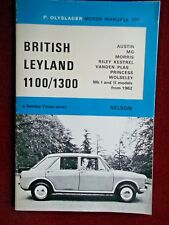 BRITISH LEYLAND 1100/1300- OLYSLAGER MOTOR MANUAL No.101