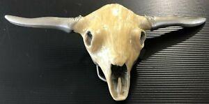 RARE Longhorn Steer Skull Western Cowboy Great American Buckle Co. Belt Buckle