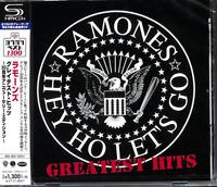 RAMONES-GREATEST HITS-JAPAN SHM-CD C41