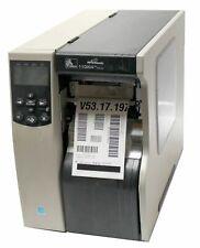 Zebra 110Xi4 112-8E1-00000 Thermal Barcode Label Printer USB Network 203DPI
