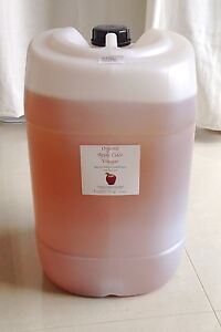 """Apple Cider Vinegar 25 litre Organic unpasteurised with """"The Mother"""""""