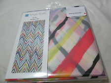 NEW Saturday Knight Limited SKL RYDER Peva Shower Curtain ~ Multi Color Chevron