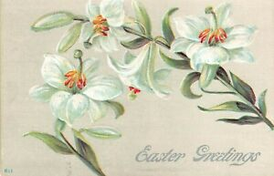 Antique Postcard  Early 1900's  Easter
