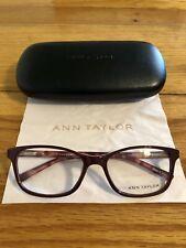 Ann Taylor Eyeglass Frames AT325 C03 Dark Rose/Tortoise 54-17-135 New