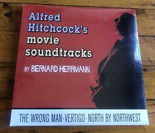 Alfred Hitchcock's Movie Soundtracks - 4LP set - Bernard Herrmann - Vertigo