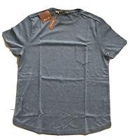 385$ Loro Piana Blue Cotton Shirt Size Medium Made in Italy
