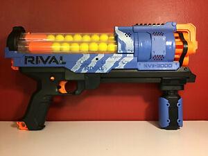 NERF Gun  BLUE RIVAL XVII-3000 with   Foam Ammo Balls