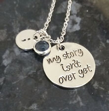 My Story Isn't Over Yet Necklace 60cm Mental Health Suicide Awareness