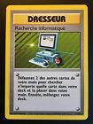Carte Pokemon RECHERCHE INFORMATIQUE 71/102 Rare Set de Base Wizard FR NEUF