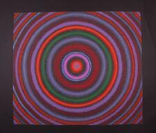 BERNARD J. STEFFEN MID-CENTURY MODERN ABSTRACT SERIGRAPH ART PRINT 6/35 SIGNED