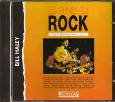 MUSIQUE CD LES GENIES DU ROCK EDITIONS ATLAS - BILL HALEY N°41