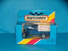 MATCHBOX - FORD MODEL A - KELLOGS - MB 73 - 1983 - NEUF EN BOITE