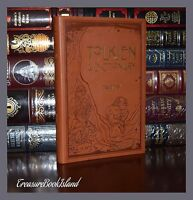 A Dictionary of Tolkien by David Day Lord Rings Hobbit Deluxe Soft Leather Feel