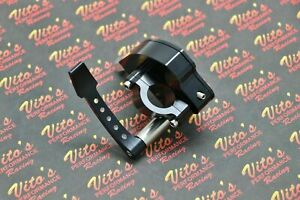 Billet Aluminum Thumb Throttle Assembly Lever Yamaha Banshee Raptor Yfz450 Black