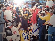 Al Unser!! 4 Time Indy 500 Winner!! Hand Signed Photo AWESOME!!!