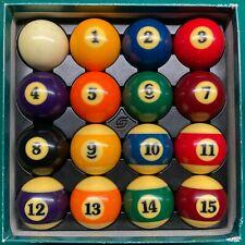 New listing USED Super Aramith Pro Pool Balls billiard ball set - FAST Free SHIP!
